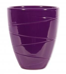 Orchideen übertopf in der farbe violett